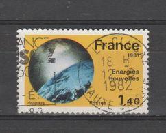 "FRANCE / 1981 / Y&T N° 2128 : ""Grandes Réalisations"" (Energies Nouvelles) - Usuel 1982 - France"