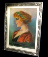 DEVILLE NOZERAN (R.) - [Pastel Signé]. 1913. - Pasteles