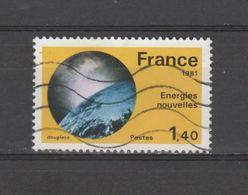 "FRANCE / 1981 / Y&T N° 2128 : ""Grandes Réalisations"" (Energies Nouvelles) - Usuel - France"