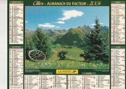 1985 - CALENDRIER ALMANACH Des PTT - Les Houches & Aiguilles D' Arves - Documents Sur Napoléon - Kalender