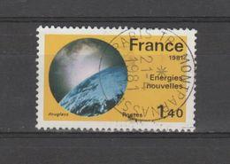 """FRANCE / 1981 / Y&T N° 2128 : """"Grandes Réalisations"""" (Energies Nouvelles) - Oblitération 1981 04 21. SUPERBE ! - France"""