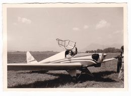 AEREO  NON IDENTIFICATO - PLANE  - AERITALIA TORINO  - FOTO CARTOLINA ORIGINALE ANNO 1960 - Luftfahrt