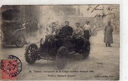 THERY , Vainqueur De La  Coupe  GORDON BENNETT 1905 Voiture Richard Brasier ( Vendu Dans L'état ) - Rally Racing