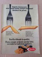 - ADVERTISING PUBBLICITA' PASTA BARILLA TRADIZIONE ITALIANA   - 1976 -  OTTIMO - Unclassified