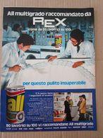 - ADVERTISING PUBBLICITA' ALL MULTIGRADO RACCOMANDATO DA REX - 1976 -  OTTIMO - Unclassified