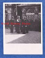 4 Photos Anciennes - Ville à Situer - Enterrement Militaire - Post WW2 - Armée De L'Air Pilote Aumonier Aviation Insigne - Krieg, Militär