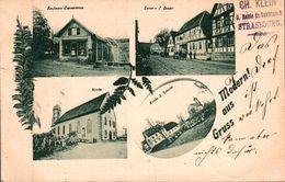 Gruß Aus Mothern ArrondissementHaguenau-Wissembourg 1899 - Haguenau