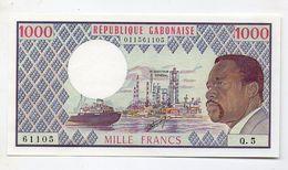 GABON  1   BILLET 1000 FRANCS - Gabon