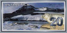 ANTARCTICA 20 Dollars 1 Janvier 2001 UNC Spécimen - Specimen