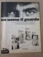 - ADVERTISING PUBBLICITA' REGGISENO LOVABLE UN UOMO TI GUARDA  - 1976 -  OTTIMO - Unclassified