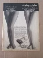 - ADVERTISING PUBBLICITA' COLLANT LADYZETA RELAX  - 1976 -  OTTIMO - Unclassified