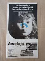 - ADVERTISING PUBBLICITA' CEROTTI ANSAPLASTO - 1976 -  OTTIMO - Unclassified