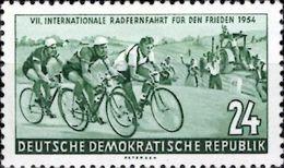 DDR 1954 Mi. Nr. 427 Internationale Radfernfahrt Warschau - Berlin - Prag Postfrisch (0361) - DDR