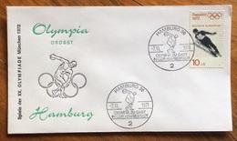 OLYMPIA GRUSST HAMBURG TEST-WETTKÄMPFE MÜNCHEN 71 - ANNULLO OLIMPICO  HAMBURG 36 - Summer 1972: Munich