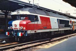 CC 72030 Bicentenaire 1989 Photo 10X15 - Trains