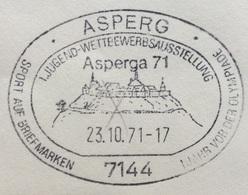 XX OLIMPIADE - MÜNCHEN 1972  - SPORT UND OLYMPIA AUS BRIEFMARKEN  - ANNULLO OLIMPICO ASPERG  - ASPERGA 71 - Summer 1972: Munich