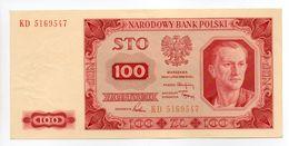 - Billet POLOGNE - 100 Zlotych - NARODOWY BANK POLSKI - - Pologne