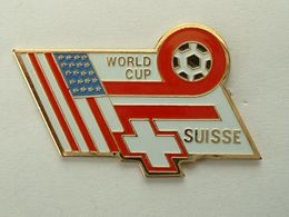 Pin's FOOTBALL - WORLD CUP USA 94 - SUISSE - Fussball