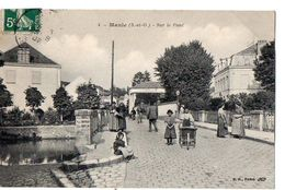 4 - MAULE (S.-et-O.) - Sur Le Pont - Maule
