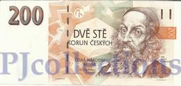 CZECH REPUBLIC 200 KORUN 1998 PICK 19F UNC - Repubblica Ceca