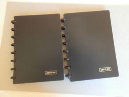 2 Porte Carte Visite -Format A5 - Card-ex - Système ADOC - Alphabétique - Two Visitor Card Albums - Tarjetas De Visita