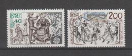 FRANCE / 1981 / Y&T N° 2138/2139 : Europa (2 TP : Bourrée & Sardane) - Tous Cachet Rond - France