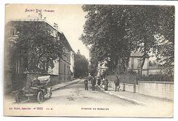 SAINT DIE - Avenue De Robache - Voiture - Saint Die
