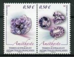 Terres Australes 2020 Minerals Minéraux Quartz Améthiste - Minerali