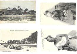 Lot De 27 Cartes De MARTINIQUE, GUADELOUPE, MAURICE, CAYENNE - Cartes Postales