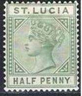 COLONIES ANGLAISES-ST LUCIE YT 25A * - St.Lucia (...-1978)