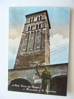 RIETI  MONUMENTO A SANTO  FRANCESCO    LAZIO    VIAGGIATA  COME DA FOTO  ACQUERELLATA  * - Rieti