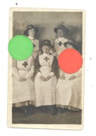 GUERRE 14/18 - Photo Carte D'un Groupe De Dames De La Croix-Rouge Datée Du 12 Septembre 1916 - Infirmière ? ( B279) - Oorlog 1914-18