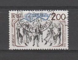 FRANCE / 1981 / Y&T N° 2139 : Europa : La Sardane - Usuel 1981 06 - France