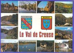 Carte Postale Géographique  Département 23. La Creuse  Très Beau Plan - Mapas