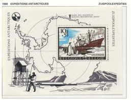 [150454]SUP//**/Mnh-[BL42] Belgique 1966, Pôle Sud, Le Bloc Expéditions Antartiques, Le Magga Dan, Bâteau De L'expéditio - Expéditions Antarctiques