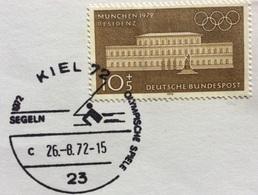 XX OLIMPIADE - MÜNCHEN 1972   - ANNULLO OLIMPICO  KIEL 72 - SEGELN  - VELA - Summer 1972: Munich