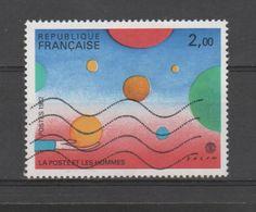 """FRANCE / 1982 / Y&T N° 2199 : """"Philexfrance '82"""" (Folon : La Poste & Les Hommes)  - Choisi - Cachet Rond - France"""