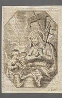 K55/  ° ST TRUIDEN?? 1787??+ ST TRUIDEN 1819  ANNA DANIELS     GRAVURE O L VROUW Van GALLE - Religion &  Esoterik