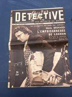 Détective 1950 208 MONTDOUBLEAU PERONNE HAUSSONVILLE ILE DE GROIX ERAGNY AIGUES MORTES - Livres, BD, Revues