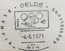 XX OLIMPIADE - SAPPORO 1972   -  MUNCHEN . KIEL 1972 - ANNULLO OLIMPICO  OELDE - Summer 1972: Munich