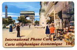 Ancienne Carte Prépayée I P C / PARIS ANNÉES 60 ( Voir Photos Recto/verso Et Description) - Frankreich