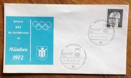 XX OLIMPIADE - MUNCHEN 1972- ANNULLO OLIMPICO   MUNCHEN 2 - EROFFNUNGS-FEIER  - CELEBRAZIONE DI APERTURA - Summer 1972: Munich