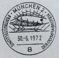 XX OLIMPIADE - MUNCHEN 1972- ANNULLO OLIMPICO   MUNCHEN  2 -  OLYMPIABAUTEN - IMPIANTI OLIMPICI - Summer 1972: Munich