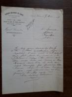 L24/165 Lettre Ancienne. Saint Julien De Civry. Fabrique Mécanique De Sabots . Myard . Girardon. 1914 - France