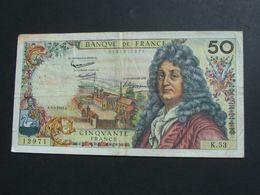 50 Cinquante Francs - RACINE - 2-5-1963   **** EN ACHAT IMMEDIAT **** - 1962-1997 ''Francs''