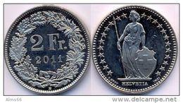Switzerland Swiss 2 Franc 2011   XF - Suisse