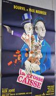 Ancienne Affiche De Cinéma Cocinor La Grosse Caisse Bourvil Paul Meurisse De Alex Joffé 80cm X 60cm - Posters