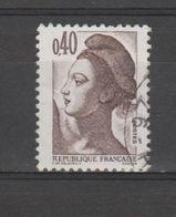 FRANCE / 1982 / Y&T N° 2183 : Liberté 40c - Choisi - Cachet Rond - France