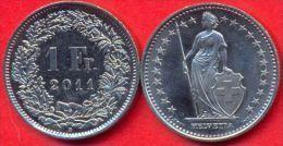 Switzerland Swiss 1 Franc 2011 XF - Suisse