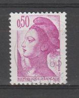 FRANCE / 1982 / Y&T N° 2184 : Liberté 50c - Oblitéré 1983. SUPERBE ! - France